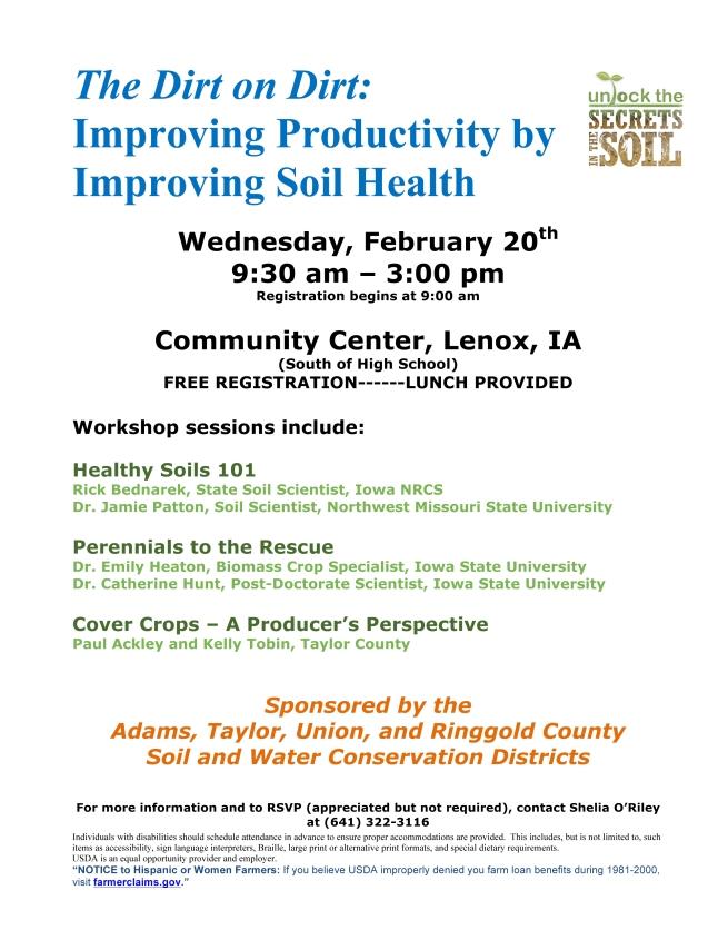 Microsoft Word - Soil Health Flyer 3.doc