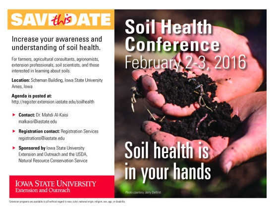 Soil Health Confernce-Save this Date_blog
