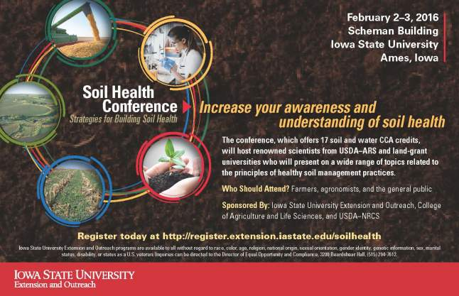 Soil Health Conference Ad