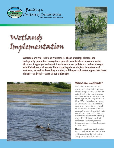 WetlandsImplementation