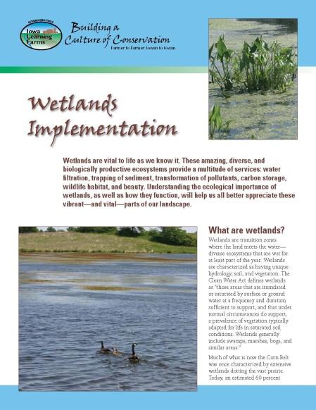 WetlandsImplementation