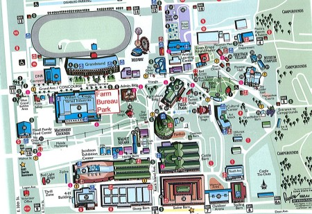 map of the iowa state fairgrounds State Fair Iowa Learning Farms map of the iowa state fairgrounds