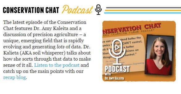 Conservation chat podcast