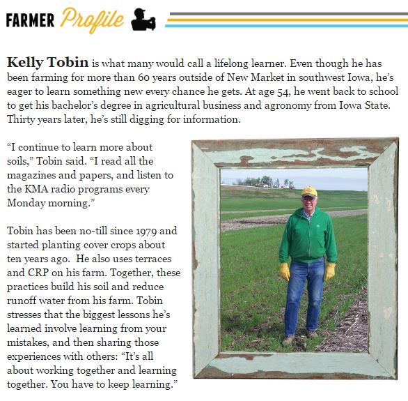 Farmer profile kelly tobin