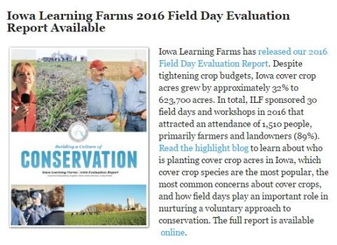 ILF Field Day Report