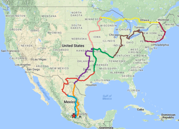 ButterBike Route