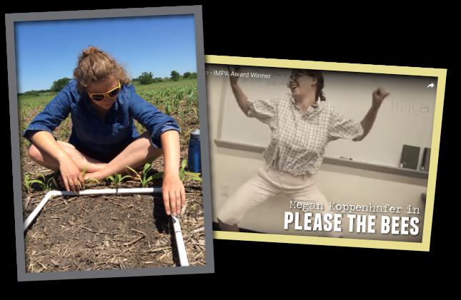 Welcome back, Megan! – Iowa Learning Farms