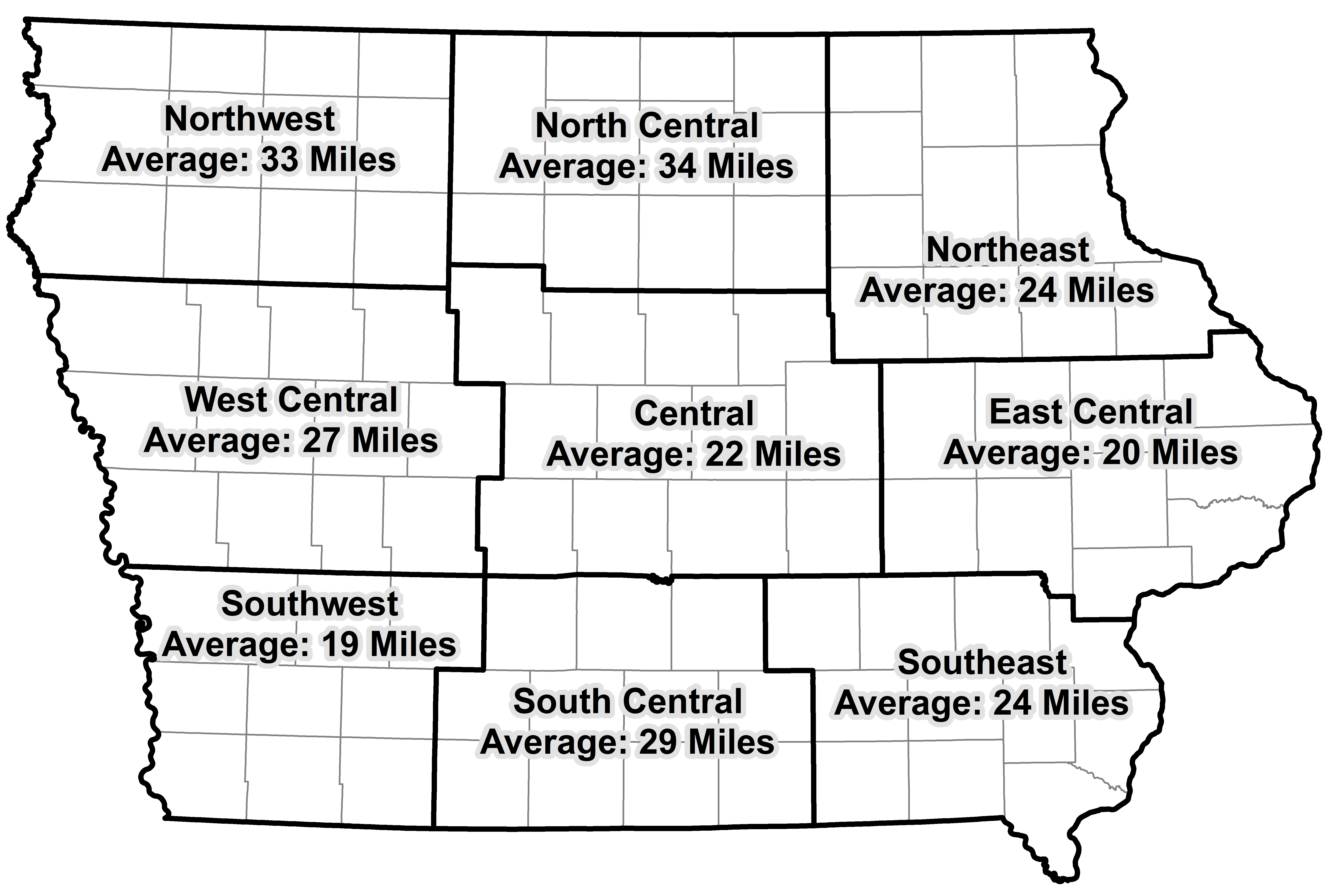 Summary of 15 16 and 17 Distance Traveled by Crop Dist